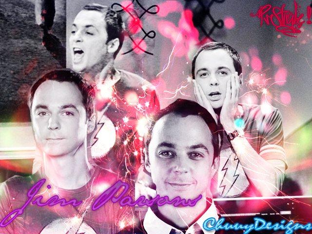 Jim Parsons a.k.a Sheldon by chizuz