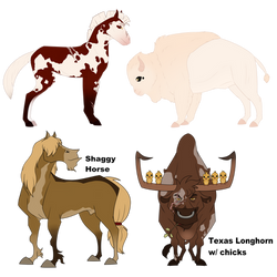 Bulls and Horses [Collab adopts] OPEN