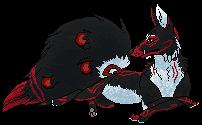 Derrick kitsune commission by sretan
