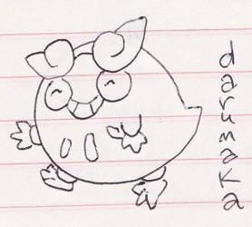 Darumaka doodle
