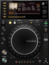UI Touch CDJ Pro by GianlucaDivisi