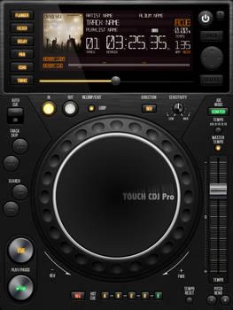 UI Touch CDJ Pro