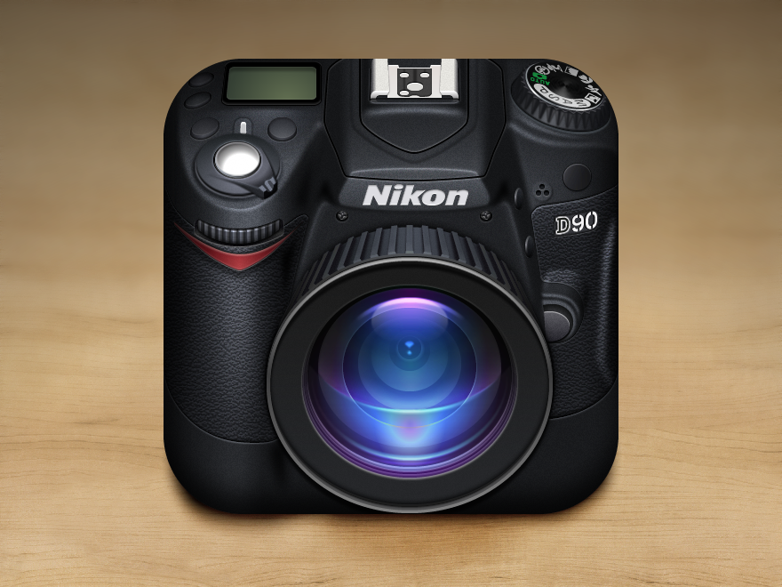 Nikon Camera iOS Icon by GianlucaDivisi