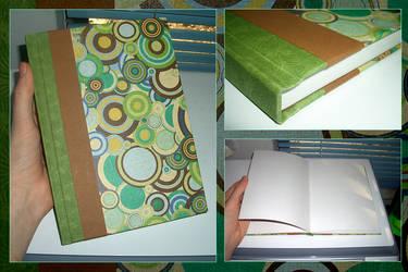Retro Swirls Book by funkmaster-c