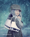Under the snow by PaquiFg