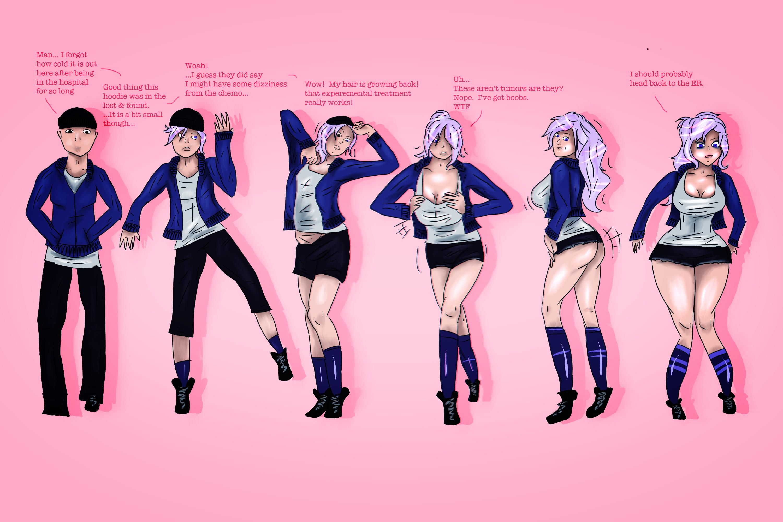 Tg Transformation - Mega Porn Pics-1356