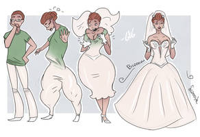 Here Comes The Bride - TG Transformation by Grumpy-TG