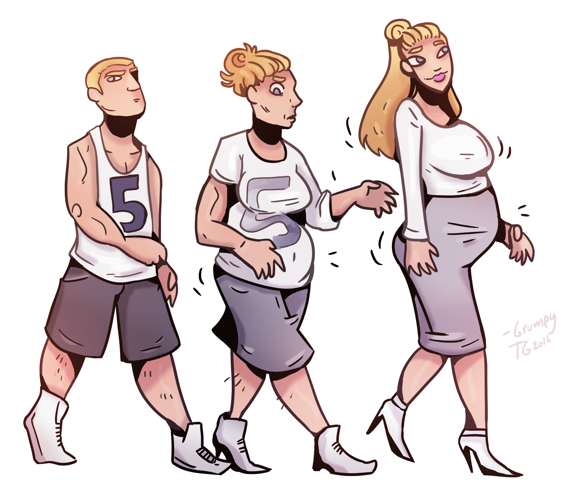 Male to female tf and pregnant tf