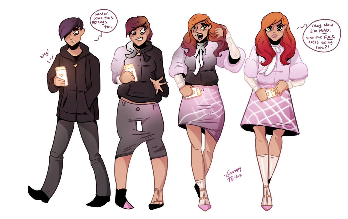 Deviantart Sissy Transformation Pictures To Pin On Wallpaperzenorg