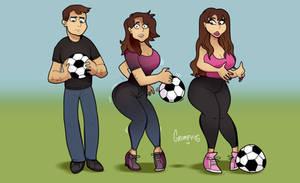 Soccer Mom 3: Resurgence - TG Transformation by Grumpy-TG
