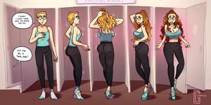 Dressing Room - TG Transformation