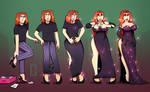 A Dress to Match - TG Transformation