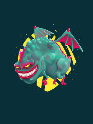 Kandy the Toxic Dragon by Skeware