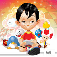 Wii art cover by incas