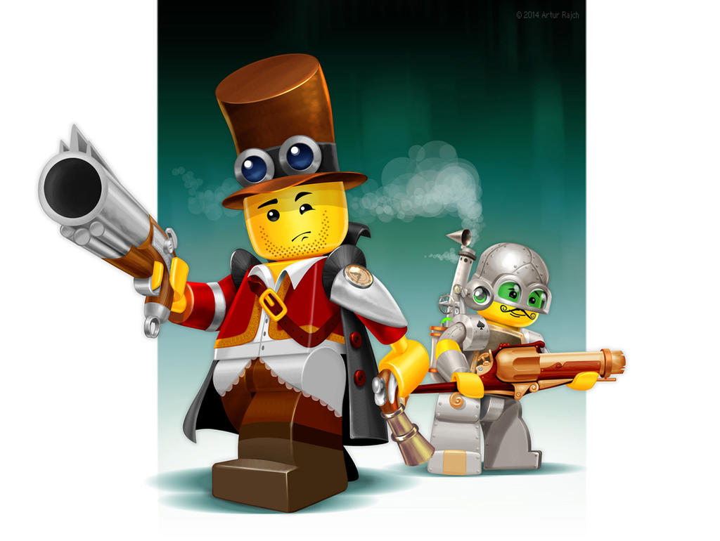 Lego cyberpunk by incas