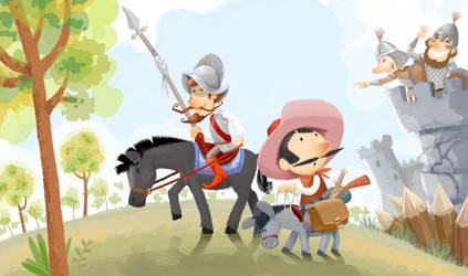 Don Quixote by incas