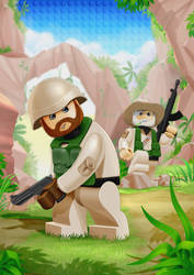 Lego soldiers5 by incas