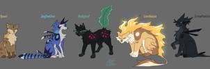 Warrior Cats   My designs