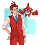 Red and Blue by softlytired
