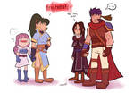 FE/Collab: Friends TM by softlytired