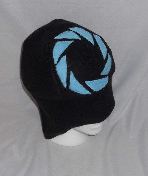 Aperture Science Fleece Hat by PakajunaTufty