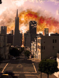San Francisco explosion by titoff77