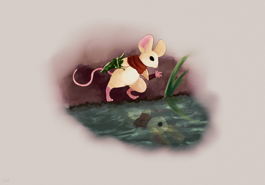 Moss Mouse by IncubusPhanto