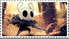 hollow knight - godmaster stamp by doepaws