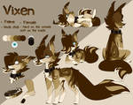 Vixen 2019 Ref Sheet by Cylynix