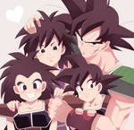 Gine Bardock and Family
