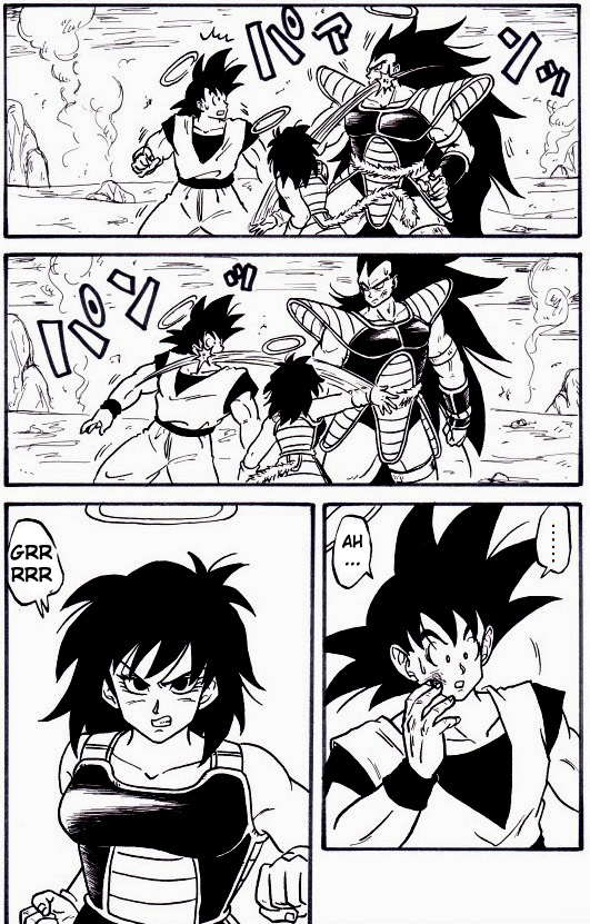 Goku Meets His Family Pg1 By Rjackson244 On Deviantart