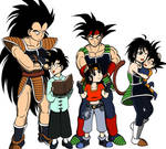 The Saiyan (Son) Family