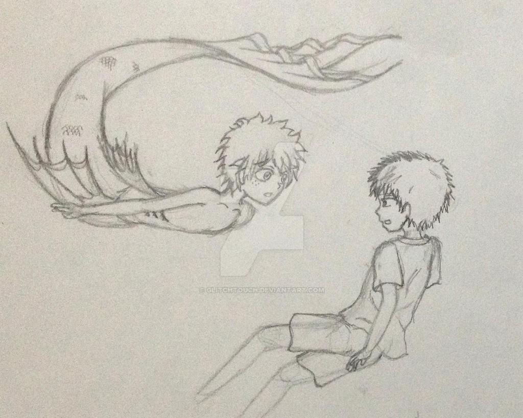 Child Bakugo and mer Izuku by GlitchTouch
