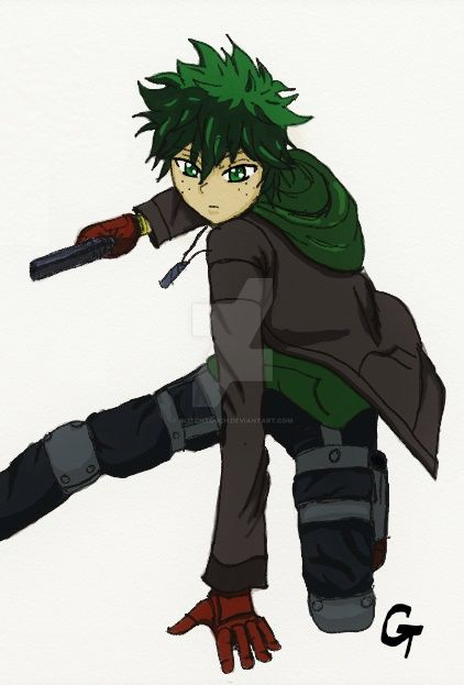 Assassin Izuku by GlitchTouch