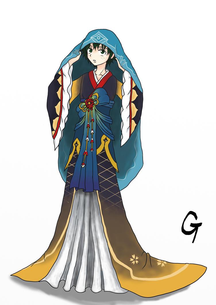 Princess Izuku by GlitchTouch