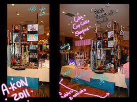 A-Kon table display by JohnYume