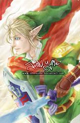 Link Hero of Time by JohnYume