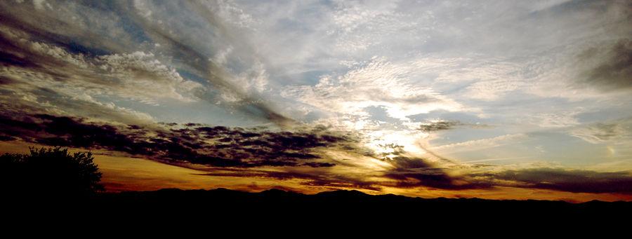 Cross Process Sunset