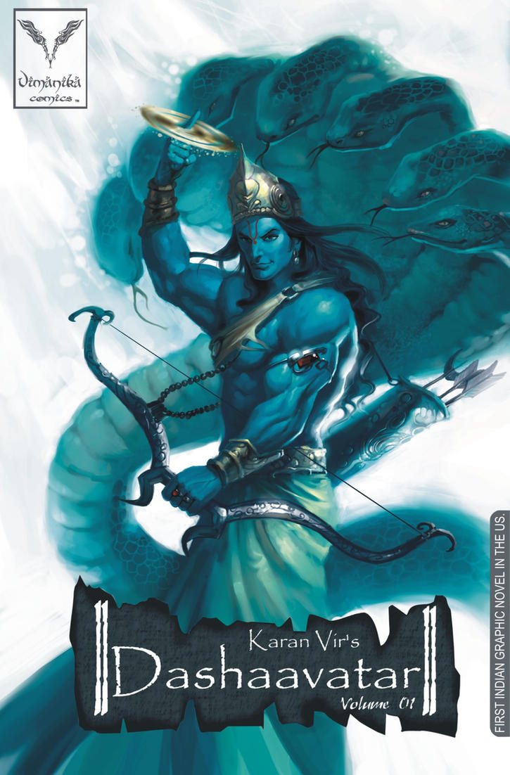 Dashaavatar-Vimanika Comics by Karanvir