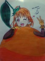 Chika w/ mikan costume by Serica19