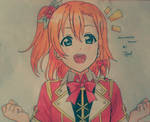 Honoka w/ her Moment Ring Outfit