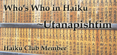 Member: Utanapishtim by the-haiku-club