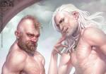 Geralt and Zoltan