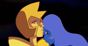 Yellow and Blue Diamond- Steven Universe