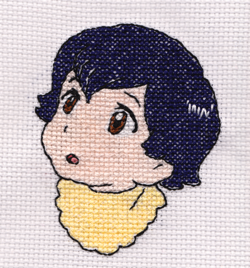 Baby Ame Cross-Stitch by xMelodyHeartsx