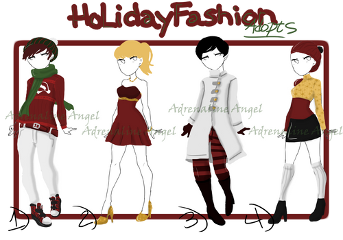 Holiday Fashion Adopts [OPEN]
