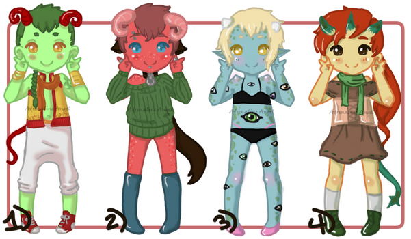 Little Demon Adopts [OPEN]