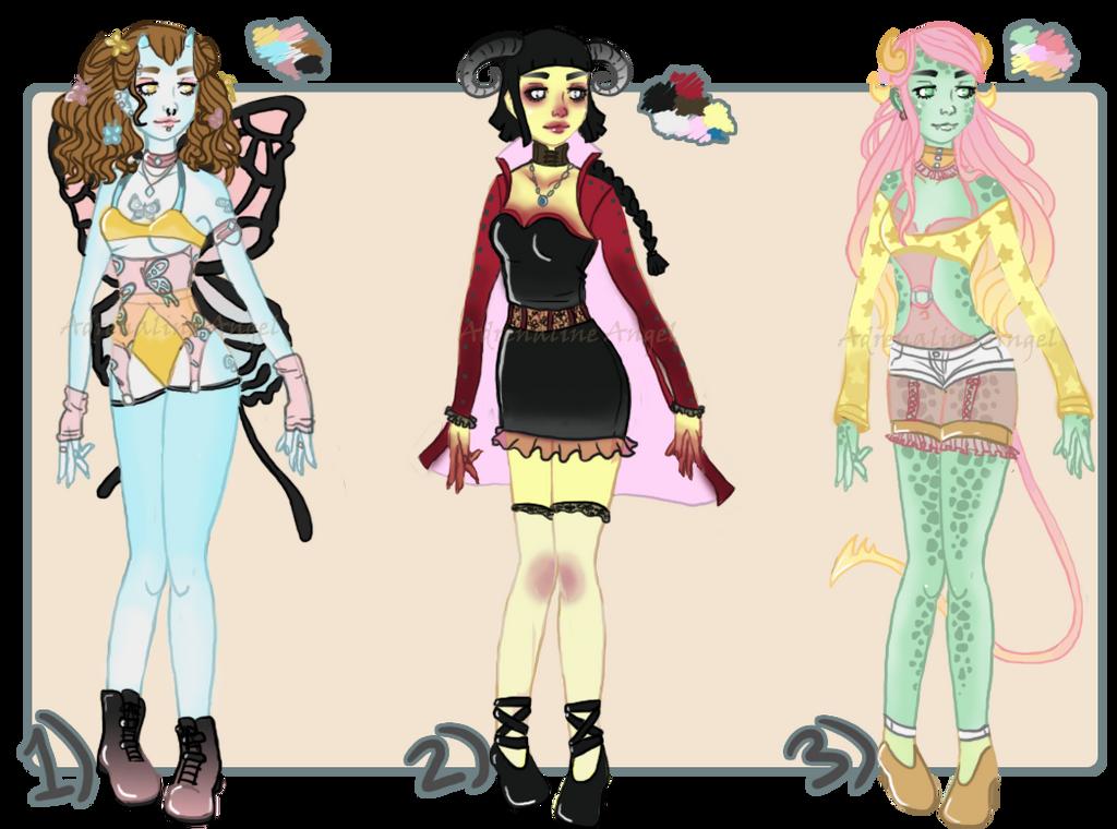 Monster Girl Adopts 2 [OPEN] by AdrenalineXAngel