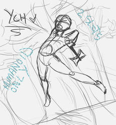 Ych - Jumping with Weapon [2 SLOTS OPEN]