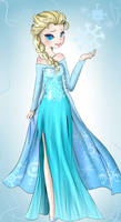 Elsa~Frozen!